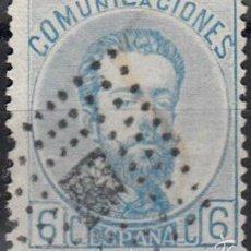 Sellos: EDIFIL 119 USADO. 1872 AMADEO I. MATº ROMBO DE PUNTOS CON ROMBO.. Lote 60294987