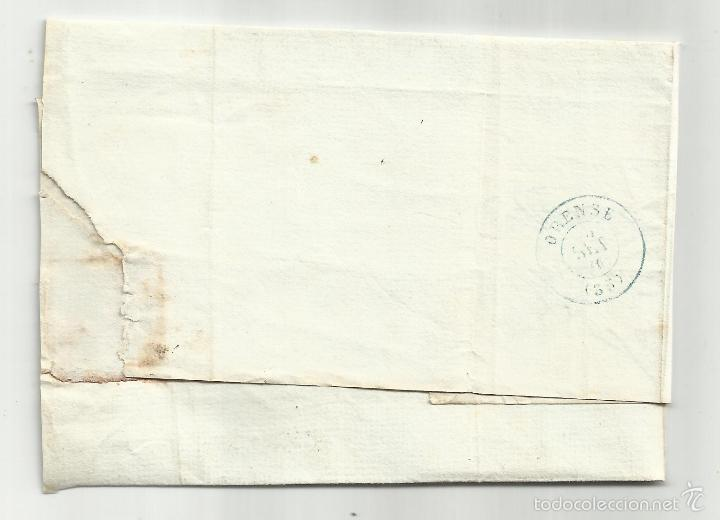 Sellos: envuelta circulada 1870 Gobierno PROVISIONAL EDifil 107 de rivadabia orense - Foto 2 - 60949307