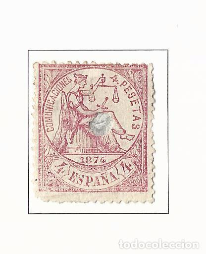 1874 PRIMERA REPUBLICA EDIFIL 151 TELEGRAFOS VALOR 2016 CATALOGO 14.50 EUROS (Sellos - España - Amadeo I y Primera República (1.870 a 1.874) - Nuevos)