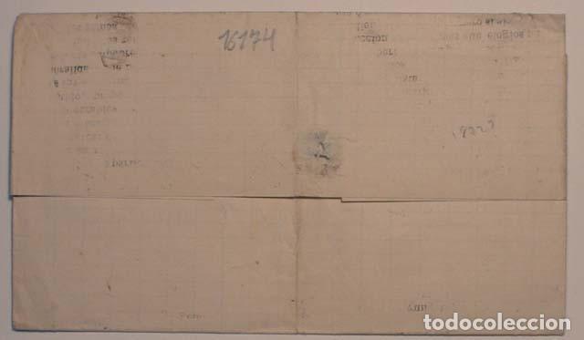 Sellos: ANTIGUO SOBRE 18xx DE LLERENA A ZAFRA, SELLO GOBIERNO PROVISIONAL - Foto 2 - 62761956