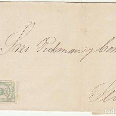 Sellos: SELLO 130A.(PAREJA) CORONA MURAL.LORA DEL RIO A SEVILLA . 1873. Lote 64558579