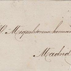 Briefmarken - ENVUELTA CARTA año 1871 franq 107 de VALLADOLID A MADRID . MAT ROMBO DE PUNTOS Y FECHADOR - 66035642