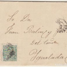 Sellos: SELLO 133 : BURGOS A YGUALADA (BARCELONA) AÑO 1873.. Lote 69244473