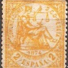 Timbres: EDIFIL Nº 143* NUEVO 2C. AMARILLO ( 35,00 € ). Lote 69287517
