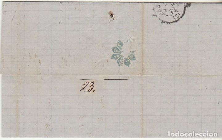 Sellos: Sello 107 : ZARAGOZA a BARCELONA. 1872. - Foto 2 - 73626471