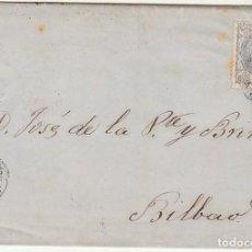 Sellos: SELLO 107 : AVILES A BILBAO. 1870.. Lote 73626867