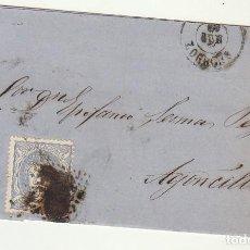 Sellos: SELLO 107 : HARO A AGONCILLO(LA RIOJA). 1871.. Lote 73627859