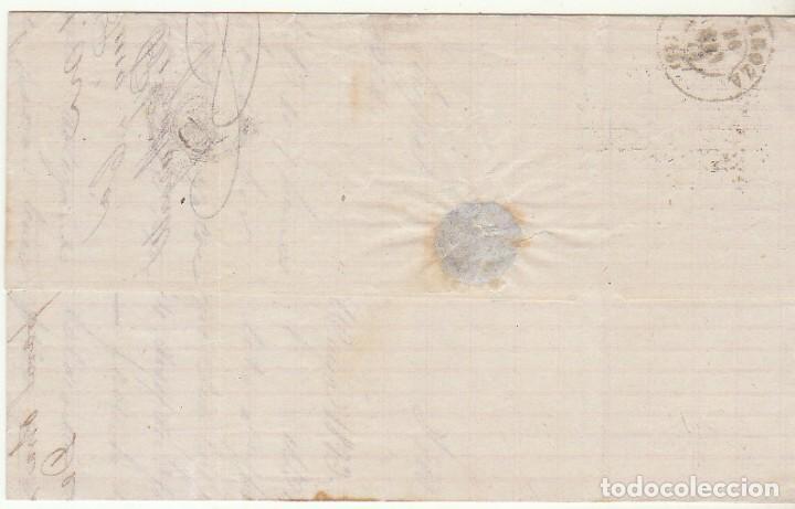 Sellos: Sello 121. BARCELONA a ZARAGOZA. 1873. - Foto 2 - 75195551