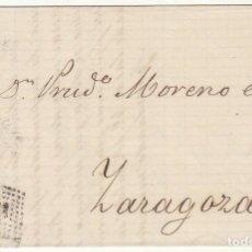 Sellos: SELLO 121. BARCELONA A ZARAGOZA. 1873.. Lote 75195951