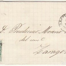 Sellos: SELLO 133 : BARCELONA A ZARAGOZA. 1873.. Lote 75479635