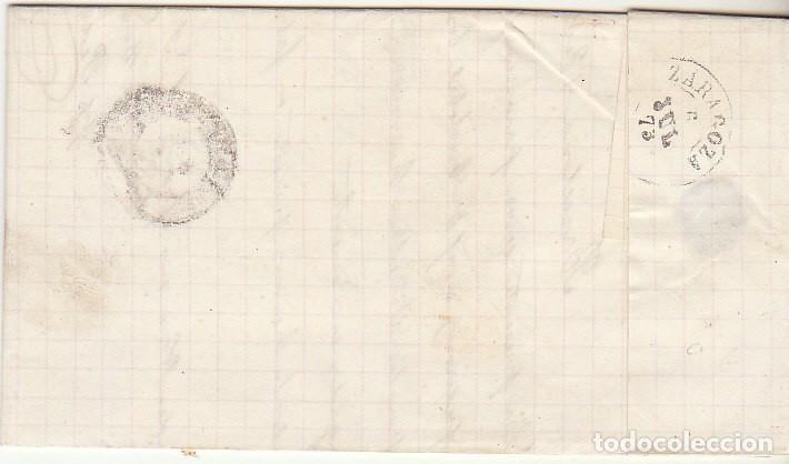 Sellos: SELLO 133 : BARCELONA a ZARAGOZA. 1873. - Foto 2 - 75479635