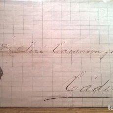 Sellos: CUBA A CÁDIZ. 1874. SELLO DE ANTILLAS EDIFIL 20. Lote 76642775