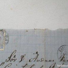 Sellos: ANTIGUA CARTA CIRCULADA-10 DE ENERO 1870. Lote 96809211
