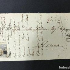 Sellos: ANTIGUO SOBRE CARTA DE CÓRDOBA A LUCENA, 1870 SELLO GOBIERNO PROVISIONAL. Lote 97028831