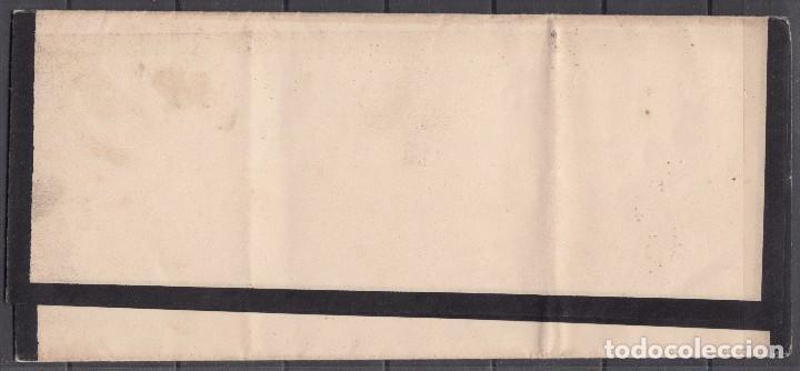 Sellos: CORREO INTERIOR BARCELONA , TARIFA DE IMPRESOS , EDIFIL Nº 130 , 4/4 CUARTOS , - Foto 2 - 98486435