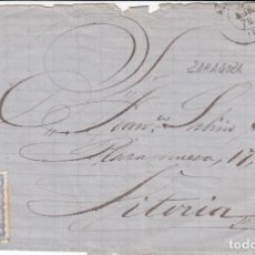 Sellos: CARTA: 1872 VITORIA / SELLO 50 MIL DE ESCUDO. Lote 99283175