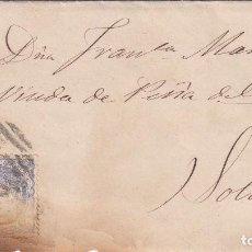 Sellos: CARTA: 1870 PALMA DE MALLORCA - SOLLER. Lote 101626131