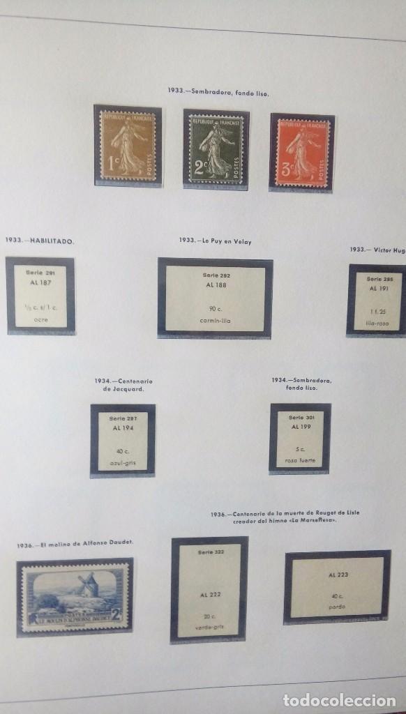 Sellos: Sellos de Francia desde1933 a 1970 - Foto 2 - 102091227