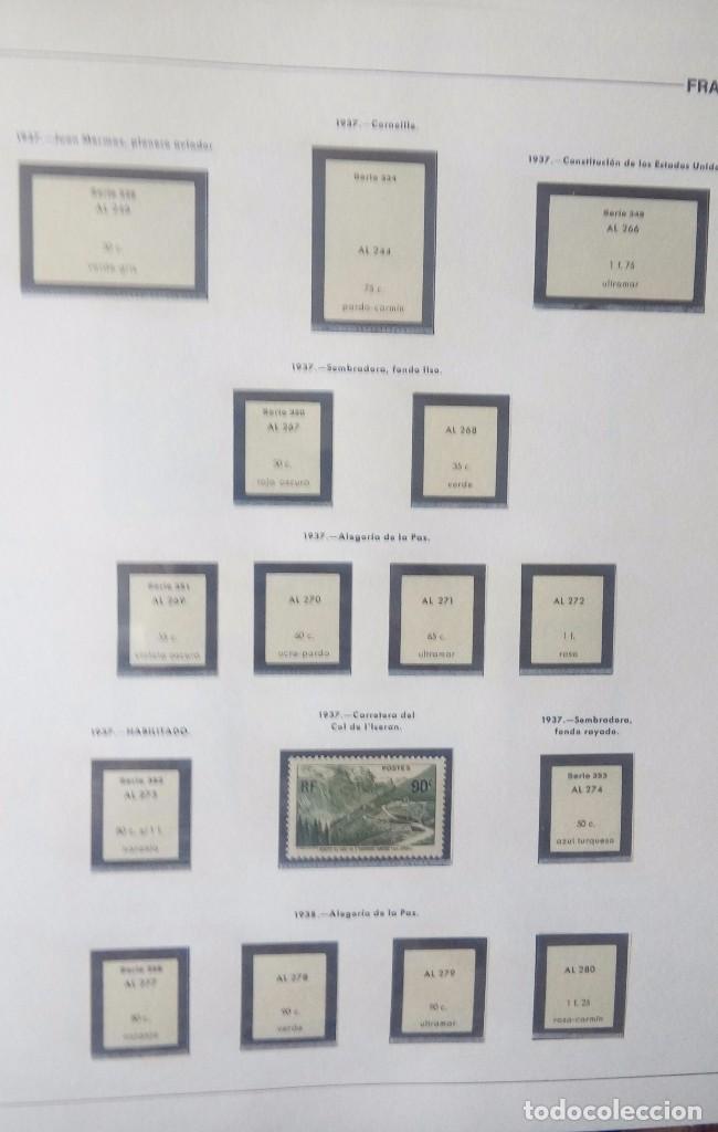 Sellos: Sellos de Francia desde1933 a 1970 - Foto 3 - 102091227