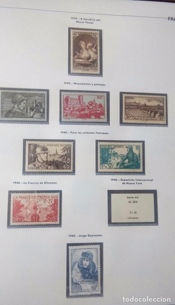 Sellos: Sellos de Francia desde1933 a 1970 - Foto 5 - 102091227