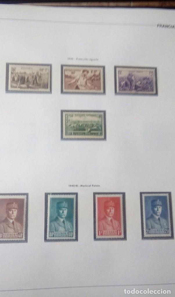 Sellos: Sellos de Francia desde1933 a 1970 - Foto 7 - 102091227