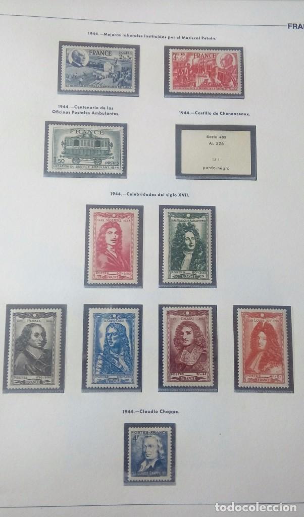 Sellos: Sellos de Francia desde1933 a 1970 - Foto 16 - 102091227