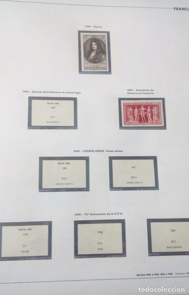 Sellos: Sellos de Francia desde1933 a 1970 - Foto 36 - 102091227