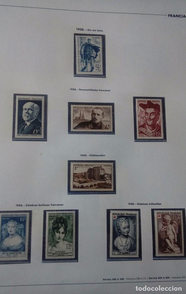 Sellos: Sellos de Francia desde1933 a 1970 - Foto 38 - 102091227