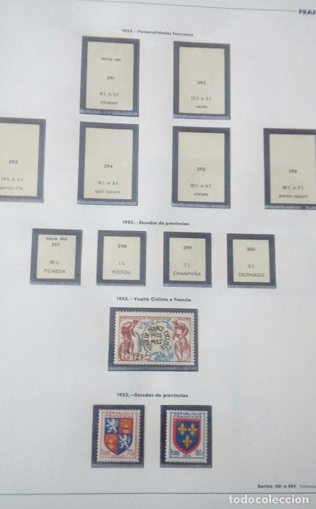 Sellos: Sellos de Francia desde1933 a 1970 - Foto 46 - 102091227