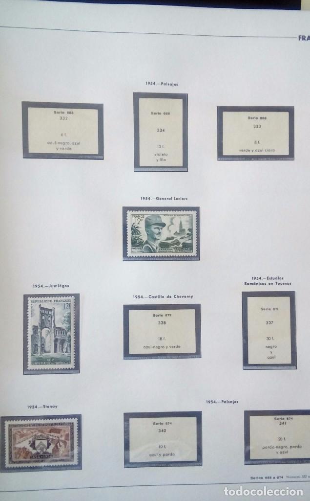 Sellos: Sellos de Francia desde1933 a 1970 - Foto 49 - 102091227