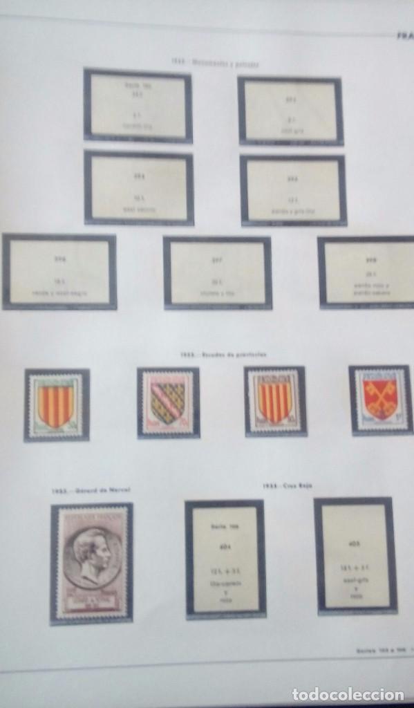 Sellos: Sellos de Francia desde1933 a 1970 - Foto 53 - 102091227
