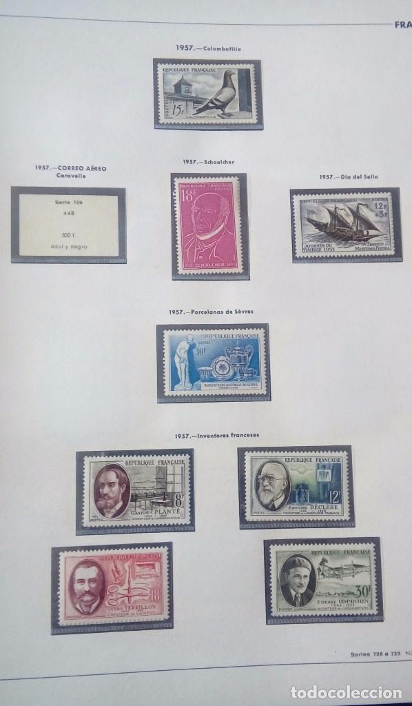 Sellos: Sellos de Francia desde1933 a 1970 - Foto 58 - 102091227