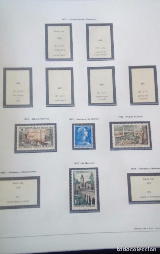 Sellos: Sellos de Francia desde1933 a 1970 - Foto 60 - 102091227