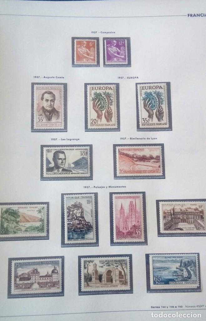 Sellos: Sellos de Francia desde1933 a 1970 - Foto 61 - 102091227