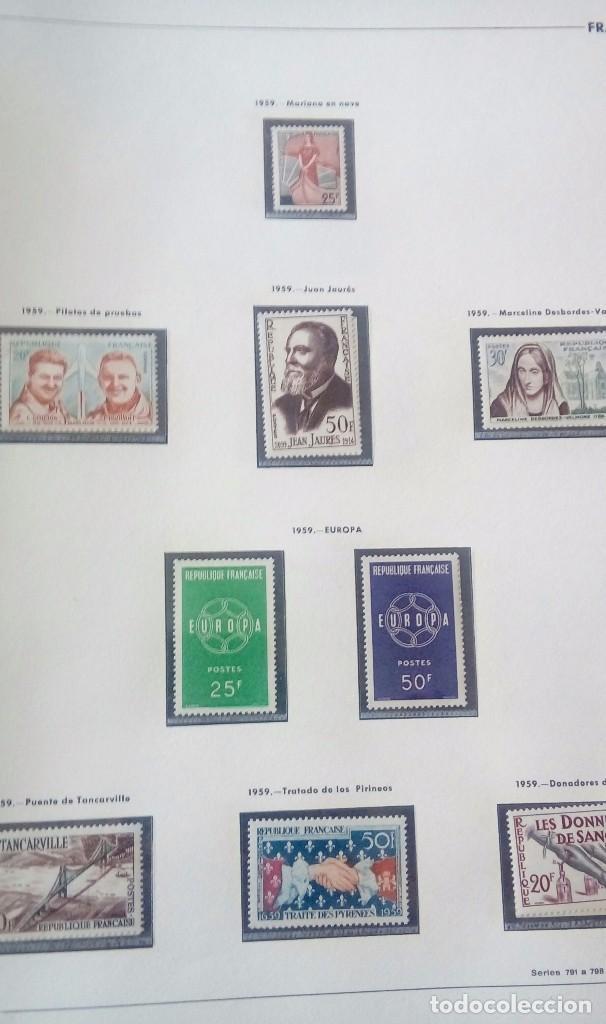 Sellos: Sellos de Francia desde1933 a 1970 - Foto 71 - 102091227