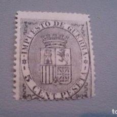 Sellos: 1874 - I REPUBLICA - EDIFIL 141 - MNH** - NUEVO SIN FIJASELLOS - MARQUILLADO.. Lote 102805975