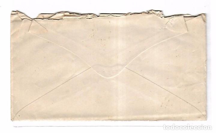 Sellos: SOBRE CON CARTA. DE SEVILLA A MADRID. 1873 - Foto 2 - 102911967