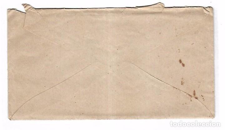 Sellos: SOBRE CON CARTA. DE SEVILLA A MADRID. 1873 - Foto 2 - 102912623