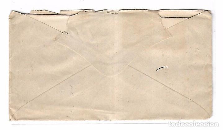 Sellos: SOBRE CON CARTA. DE SAN CLEMENTE A MADRID. 1873 - Foto 2 - 102912847