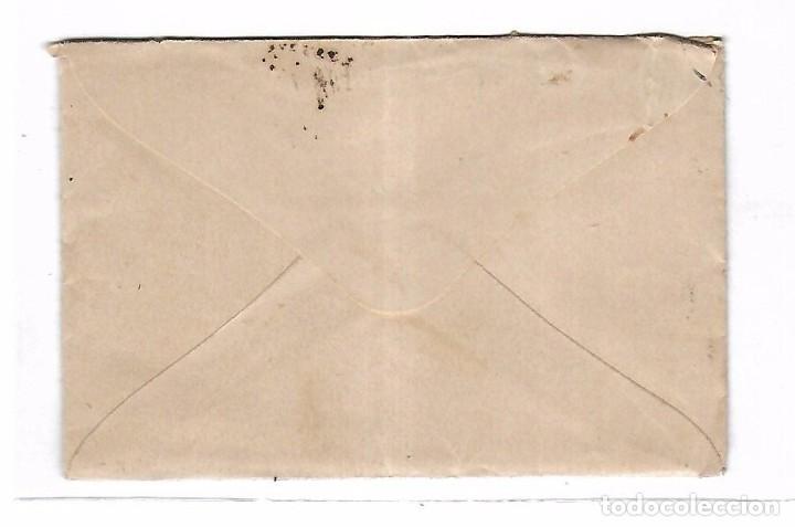 Sellos: SOBRE CON CARTA. DE SEVILLA A MADRID. 1873 - Foto 2 - 102913263