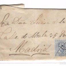 Sellos: CARTA. DE SANTIAGO A MADRID. 1873. Lote 102913731