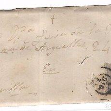 Sellos: SOBRE CON CARTA. DEL PUERTO SANTA MARIA A SEVILLA. 1873. Lote 102914167