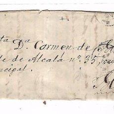 Sellos: CARTA. DE DURANGO A MADRID. 1870. Lote 102923107