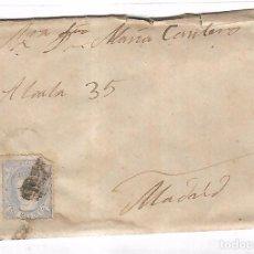 Sellos: CARTA. DE SEVILLA A MADRID. 1872. Lote 102923291