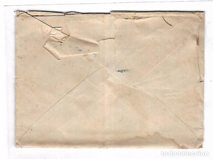 Sellos: CARTA. DE SEVILLA A MADRID. 1872 - Foto 2 - 102923291