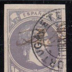 Sellos: ESPAÑA , 1874 EDIFIL Nº 158 , CORREO CARLISTA . Lote 112774999