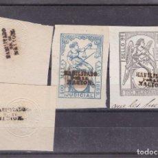Sellos: DD3-FISCALES CLÁSICOS. PAPEL SELLADO HABILITADO POR LA NACIÓN. X 4. Lote 113839087