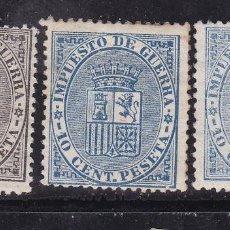 Sellos: AA12-CLÁSICOS EDIFIL 141/ 142/ 142A. NUEVOS + 60 EUROS. Lote 113962059