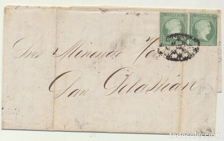 CARTA DE MATANZAS (CUBA) A SAN SEBASTIÁN DEL 11 MAY. 1860. CON- (Sellos - España - Amadeo I y Primera República (1.870 a 1.874) - Cartas)