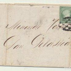 Sellos: CARTA DE MATANZAS (CUBA) A SAN SEBASTIÁN DEL 11 MAY. 1860. CON-. Lote 116323988